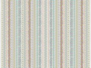 Рогожка набивная арт. 902 МАПС рис. 30077/1 Цветочные узоры компаньон, 150 см.