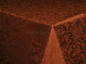 1809Б-01 Скатерть 1472/191436 коричневый 148*180