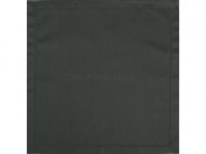 """01с-44ЯК  Комплект салфеток из 6 шт 45*45  """"Атласные"""" цв. темно-серый"""