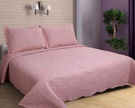 Комплект BN покрывало 230*250 наволочки 50*70 (2 шт) цвет розовый