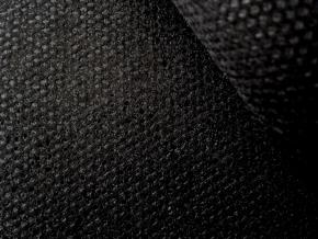 512-0040-090-508-90 Флизелин клеевой 40гр/м.кв. сплошное покр., черный, ш.90см (рул.100м)