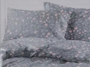 """4624-БЧ  Павлинка 1.5 спальный комплект без простыни """"Вечер"""" рис. 6065-01"""