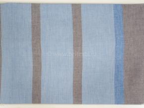 17с16-ШР 220*180 Простыня цв.1 рис 3 полоска голубая