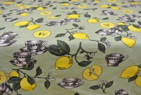 """ОБР 01877 Скатерть 150*180 """"Лимоны"""""""