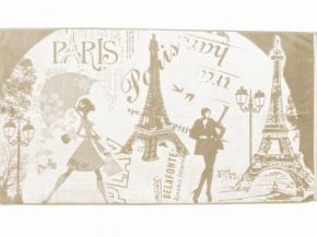 """6с102.511ж2 """"Мечты о Париже"""" Полотенце махровое 67х150см"""