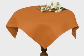 12с375-ШР Скатерть 95*95 цвет 1250 оранжевый