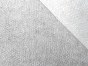 Флизелин клеевой 25гр/м2 точечное покр. белый, ш.90см (рул.100м)