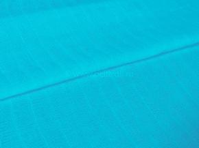 Ткань плательная гладкокрашеная Муслин арт. 700 цв. 86003/8 бирюза, 150 см