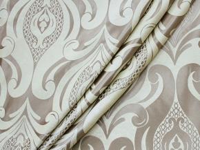 Портьера блэкаут T HY 9795-02Z/280 PJac BL розоватво-серый, ширина 280см