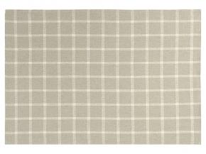 17с336-ШР 50*70 Полотенце Вафля-клетка серый