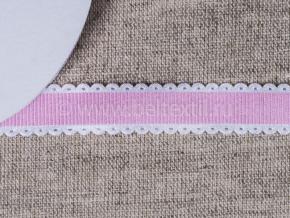 095000680 Лента декоративная шир.15мм, розовый (уп.25ярдов/22,86м)