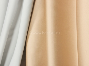 Ткань блэкаут C94 MIRA LIFE цв. 25 св.серый/золото, 300см