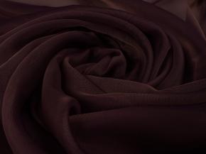 Вуаль однотонная Шелли SH 55/A/295 V шоколад, ширина 295см
