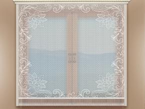 Т688 ЗАНАВЕСКА белый 1.70*1.50м