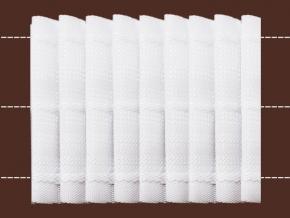 64мм. 10С3605-Г50 ЛЕНТА ДЛЯ ШТОР белый 64мм, параллельная (рул.50м)