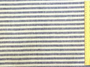 03С68-ШР/пн.+Х+У 1/132 Ткань сорочечная, ширина 150см, лен-100%