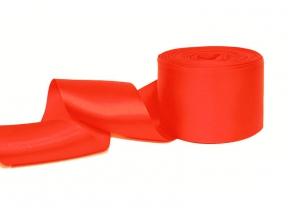 2С406У-Г50 ЛЕНТА АТЛАСНАЯ люминис-оранжевый*112, 56мм (рул.25м)