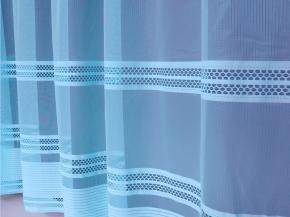 2.50м 2С6-10 К рисунок 1006 полотно гардинное голубой