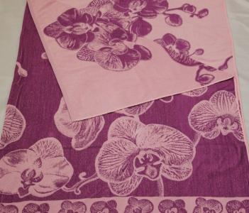 """4с81.061 208*200 """"Орхидея"""" простыня махровая"""