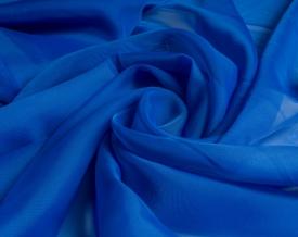 Вуаль однотонная Шелли  ZN 25/300 V (синий), ширина 300 см
