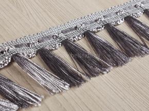 Бахрома Ajur HK BК7-62 (25m) серый