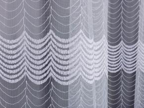 3.00м Сетка вышивка  B56 27 (V1-BEYAZ BEYAZ) белый , ширина 300см