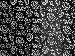 """Жаккард """"Respect"""" LD 132-22/150 PJak  черный с серебром  ширина 150 см Импорт"""