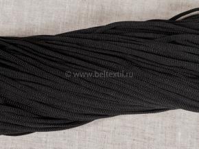 1с36 Шнур п/э д.4,5мм, черный (рул.100м)