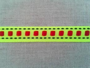 09С3564-Г50 ЛЕНТА ОТДЕЛОЧНАЯ яр.лимонный 15мм