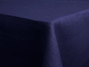 11С519-ШР Скатерть 100% лен 257 цв. синий 150*250 см.