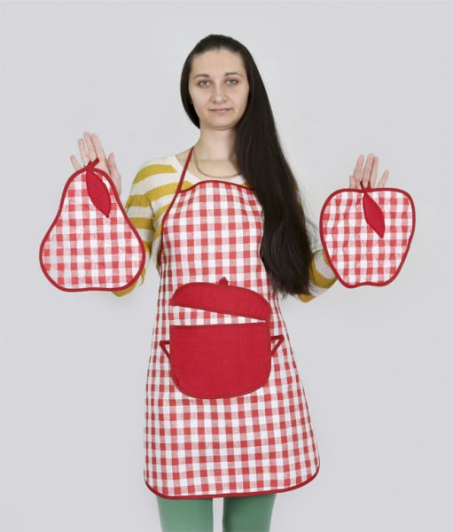 Фартуки женские для кухни
