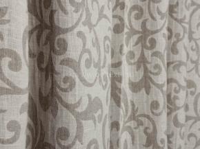 17С154-ШР+С 330/21 Ткань декоративная, ширина 221см, лен-78% хлопок-22%