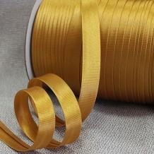 Косая бейка МН А 2122/1,5см (120м) золотой