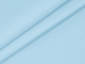 Бязь гладкокрашеная арт. 262/8 Классика ГОСТ цвет небесно-голубой, ширина 220см