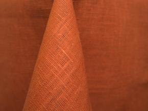 15с255-ШР  Скатерть 143*143т цвет оранж