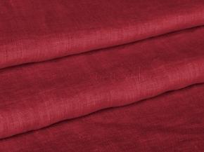 """05С212-ШР/пн.+Гл+ХМа 1180/0 красный Ткань """"с эффектом мятости"""", ширина 145см, лен-100%"""