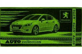"""4с83.070 104*50 """"Peugeot"""" полотенце махровое"""