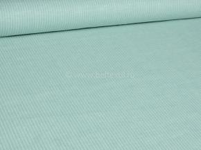 Ткань 1654ЯК п/л пестр. бел/цв ХМ усадка рис 4/4 7,4 бирюза пастель сорт 1, ширина 150 см