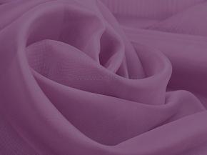 Вуаль однотонная без утяжелителя C08 HURREM цв. 2055 фиолетовый, 300см