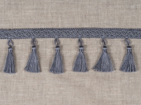 Бахрома Ajur HK B7-05 (25m) серый