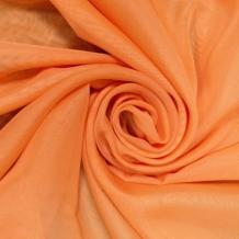 Вуаль однотонная Shelly ZN 61/300 V апельсиновый, ширина 300см