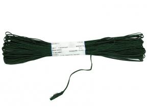1С13-Г50 ШНУР ОТДЕЛОЧНЫЙ (сутаж) т.зеленый*075, d-1.8мм (рул.20м)