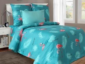 """4125-БЧ  Павлинка 2 спальный комплект """"Фламинго"""""""