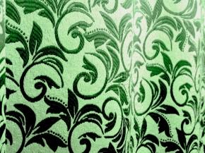Ткань блэкаут T RS 4894-12/145 PJac BL зеленый на светло-зеленом, ширина 145см