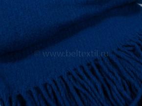 Плед НЗ 100% шерсть 130*180 рисунок 20.8 синий