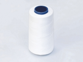 Нитки П/Э CHINA 40/2 (5000 ярдов) белый (1кор.*12б.)