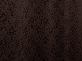 Портьера блэкаут T RS 4893-09/145 PJac BL шоколад, ширина 145см