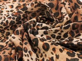 """18с31-ШР/039/у Платок 140*140 """"Леопард"""" цв 1 рис 125"""