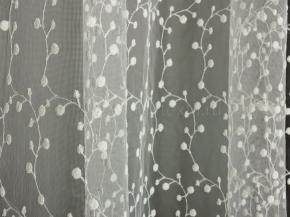2.80м B56 31 Органза-вышивка (V3-KREM KREM)
