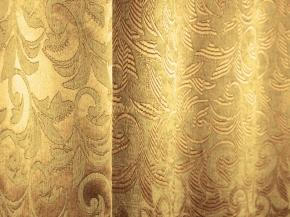 Ткань блэкаут T RS 4894-06/145 PJac BL золото на золотом , ширина 145см